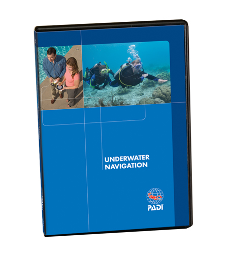 PADI Unterwasser Navigation DVD/Dutch/English/German - Abbildung ähnlich