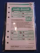 sub-base - Tauchgangeinlagen, Logbucheinlagen A5 - jetzt nur 5,00 Euro