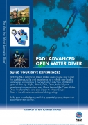 PADI Crewpak - AOWD, Ultimate with SMB & Whistle - deutsch