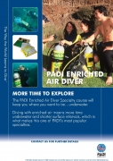 PADI Crewpak - Enriched Air Diver, with DVD (Table Use) - deutsch