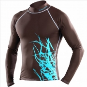 Rash Guard Brown Cayo