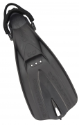 GO TRAVEL FIN, BLK, 2XS