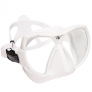 Maske Mission, clear silikone / withe