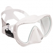 Maske Mission, MIDI, clear silikone / withe